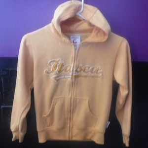 Youth Size Small Zip Up Hoody